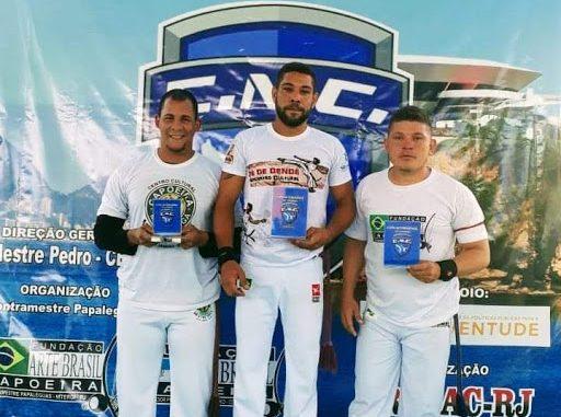 Capoeirista de Mossoró é vice-campeão da Copa Niteroiense de Capoeira