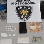 Polícia Civil prende homem por tráfico de drogas em Mossoró