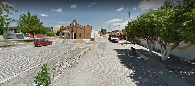 """Bairro é composto por sete conjuntos habitacionais, dos quais quatro também têm o nome de """"Abolição"""" / Reprodução/Google Street View"""