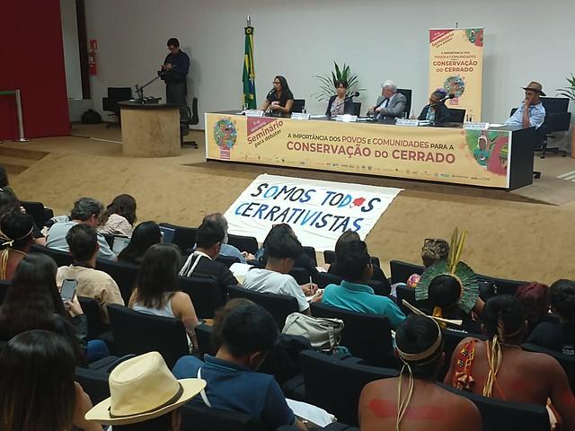 Abaixo-assinado para transformação de cerrado em patrimônio nacional também foi entregue ao Congresso / Brasil de Fato