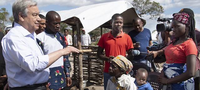 Após ciclone, Moçambique precisa de mais 300 milhões de dólares, aponta ONU