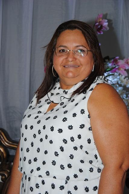 Outra aniversariante festejada do dia é a vereadora Socorro Melo para ela votos de saúde e muita paz. Parabéns!