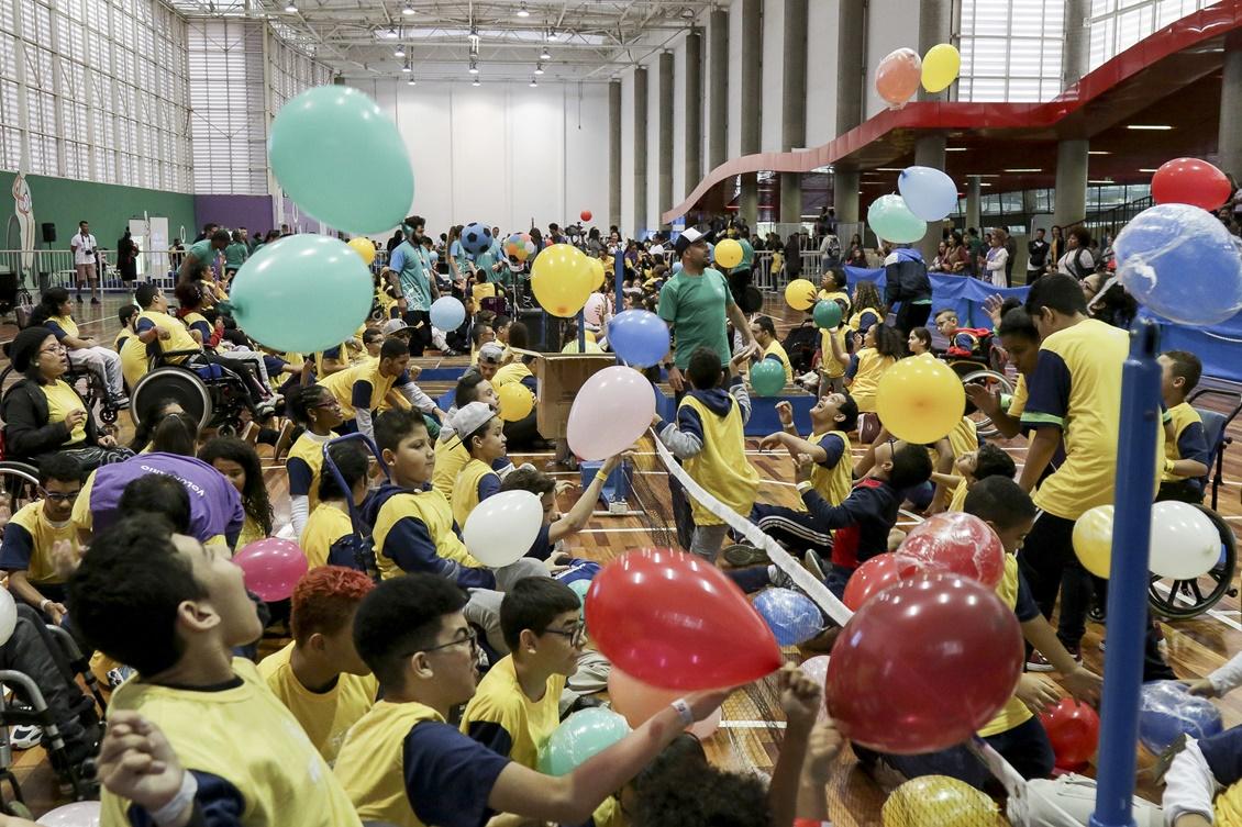 Comitê Paralímpico reúne 11 mil jovens com deficiência em todos os Estados para celebrar Dia Nacional do Atleta Paralímpico