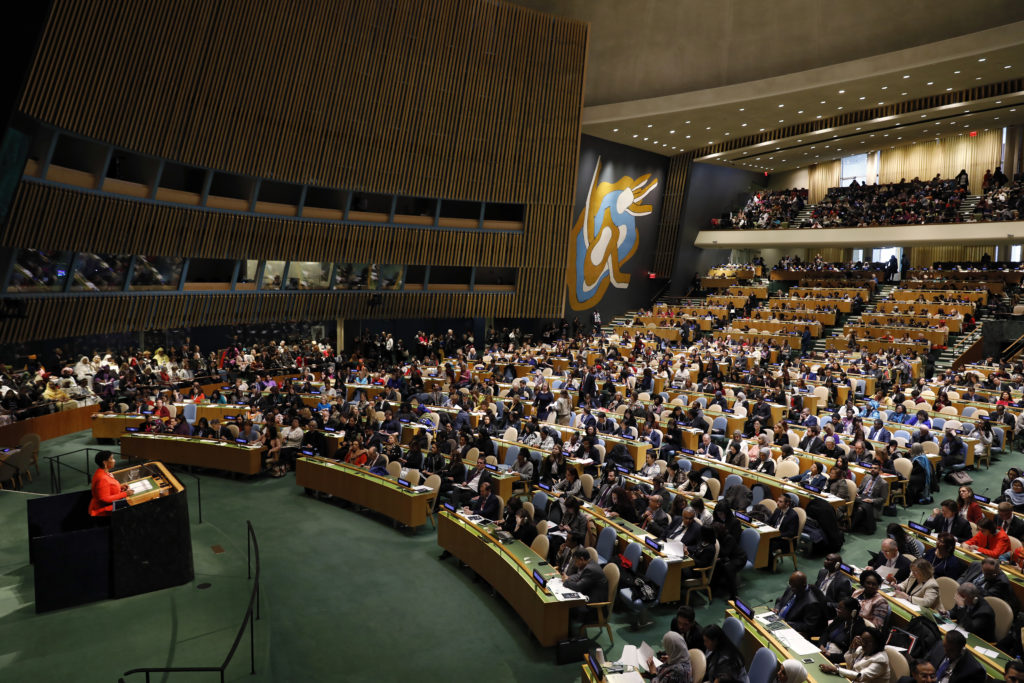 #CSW62 - Opening of the Sixty-Second Session of the Commission on the Status of Women