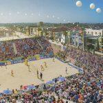 Seleção feminina faz estreia nos Jogos Mundiais de Praia