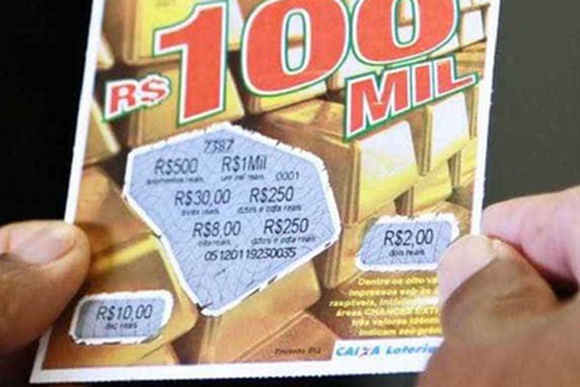 Concessão de loteria da raspadinha será leiloada nesta terça-feira