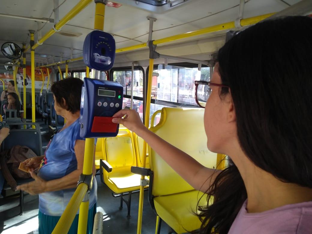Autoatendimento torna ônibus em Mossoró mais prático e seguro