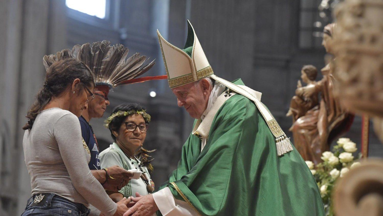 Papa Sinodo Amazonia