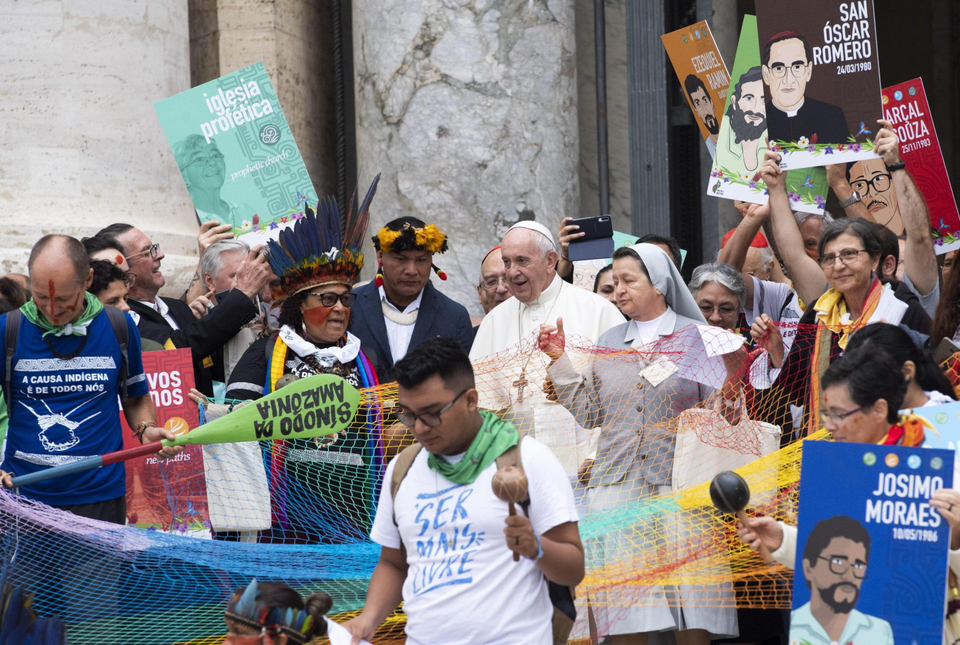 Pope Francis Amazon synod at the Vatican