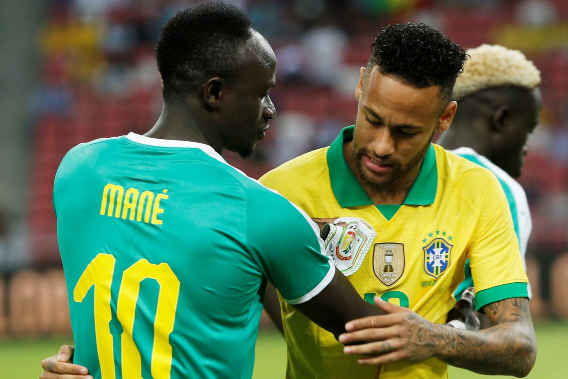 Seleção não passa de empate com Senegal em amistoso