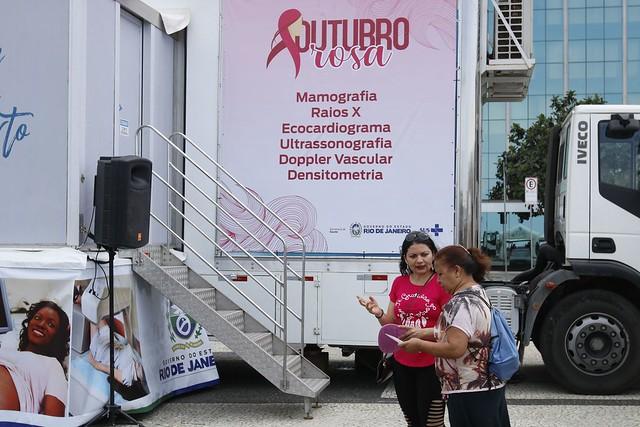 UFRN realiza mutirão de mamografias gratuitamente dentro do campus