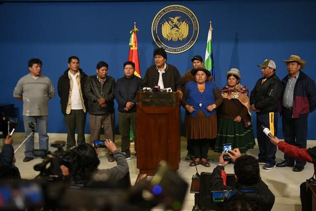 Lula, Nicolás Maduro e Cristina Kirchner denunciam golpe contra Evo
