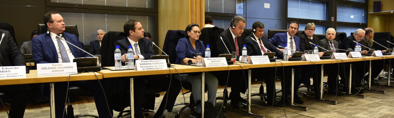 Na França, governadora destaca potencialidades do RN a grupo de 40 empresários