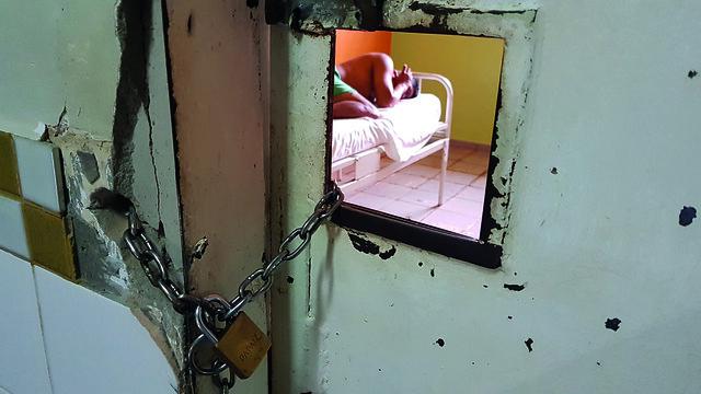 """De 40 unidades pesquisadas, 82% têm internações de longa permanência, mostra relatório; conduta é ilegal / Relatório """"Hospitais psiquiátricos no Brasil""""/Divulgação"""