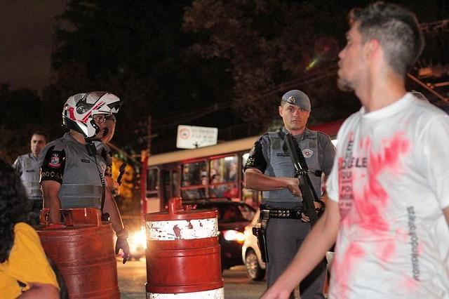 Nove pessoas foram mortas durante ação truculenta da PM-SP / Foto: Jornalistas Livres