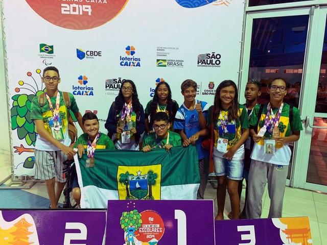 Potiguares conquistam 71 medalhas na 13ª Paralimpíadas Escolares
