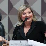 Joice Hasselmann expõe esquema dos gabinetes bolsonaristas em CPI das Fake News