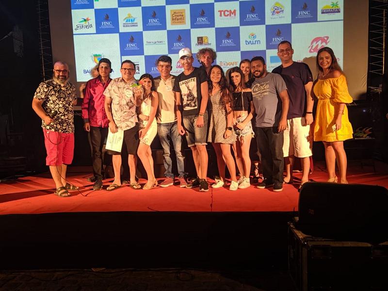 Estudantes do Seridó são premiados em Festival de Cinema