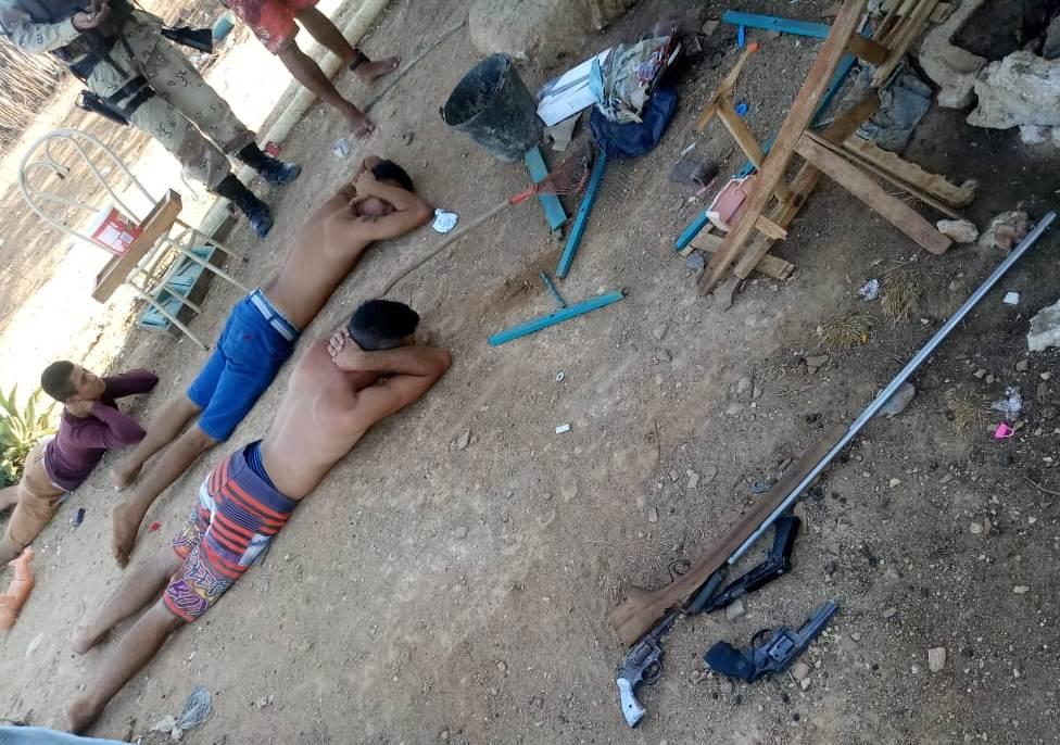 Operação da PM prende quadrilha em Governador Dix-Sept Rosado
