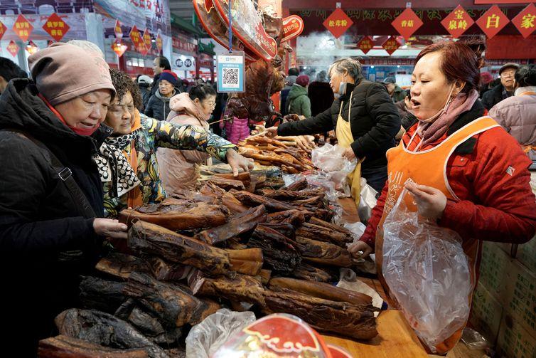 População da China cresceu para 1,4 bilhão de pessoas, revela estudo do governo     REUTERS/Jason Lee/Direitos Reservados