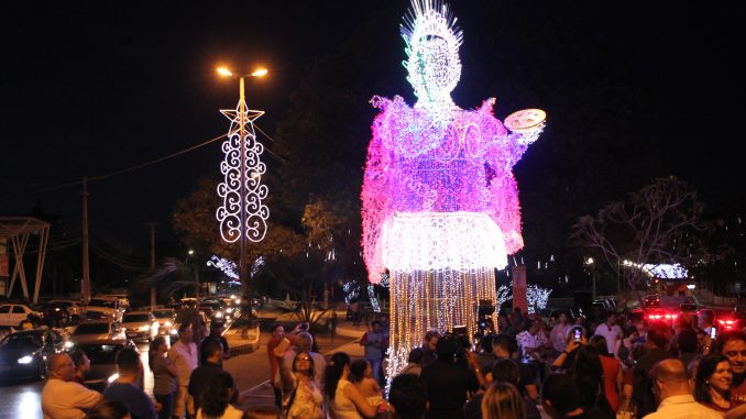 Escultura de Santa Luzia permanecerá erguida na Avenida Presidente Dutra