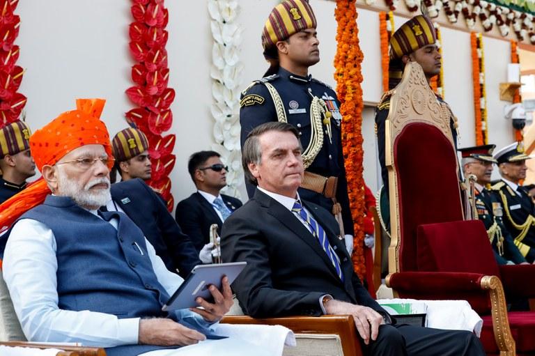 Bolsonaro na Índia