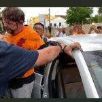 Vídeos flagram três homens com armas de fogo disparando contra Cid Gomes