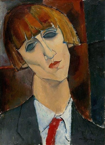 (Retrato de Madame Kisling, de Amedeo Modigliani)