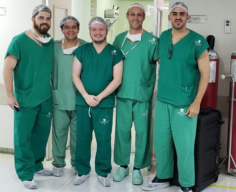 equipe cirurgica