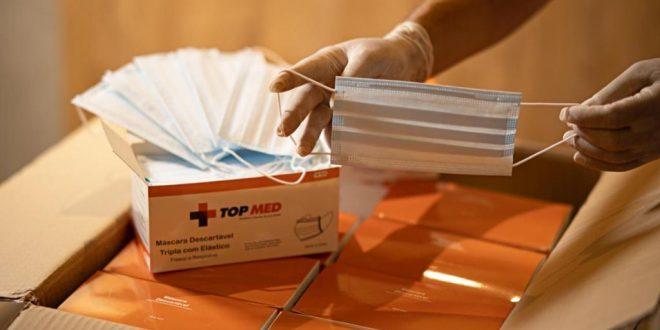 Coronel Azevedo destaca doação de EPIs para operadores da Segurança e servidores da Saúde