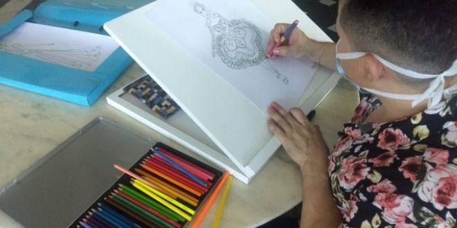 Vídeos mostram passo a passo da preparação dos quadrilheiros para apresentações juninas