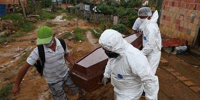 País registra recorde de 1.349 mortes por covid-19 nas últimas 24 horas